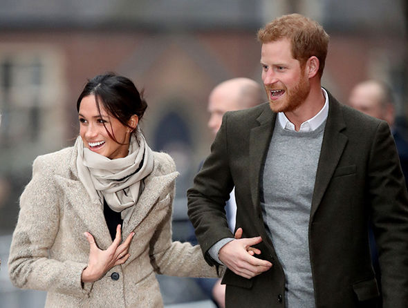 Meghan Markle and Prince Harry will marry in Windsor this Saturday Photo (C) GETTY