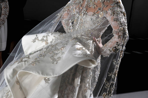 Meghan Markle's wedding dress designer has been named as Ralph & Russo Photo (C) GETTY