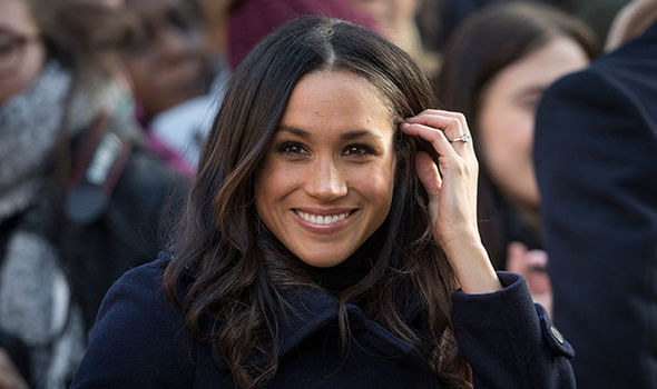 Meghan Markle will most likely be named Duchess of Sussex after she marries Prince Harry Photo (C) GETTY