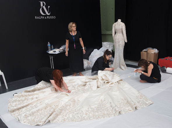 Meghan Markle's wedding dress designed by Ralph & Russo will reportedly cost £100,000 Photo (C) GETTY