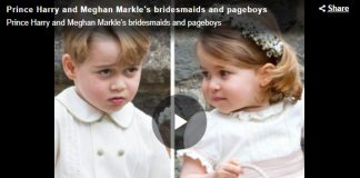 Megs and Harry be warned 8 flower girls and page boys who stole the wedding day spotlight