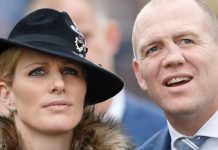 Mike Tindall nose He is married to Zara Tindall Photo (C) GETTY