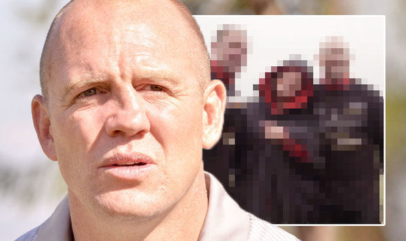 Mike Tindall nose His nose looks a lot straighter Photo (C) GETTY