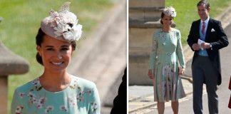 Pippa Middleton arriving at the Royal Wedding Photo C PA