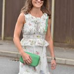 Pippa Middleton, like Meghan Markle, opts for floral dresses Photo (C) GETTY, STOCK IMAGES