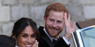 Prince Harry and Meghan Markle Congratulations Photo C GETTY