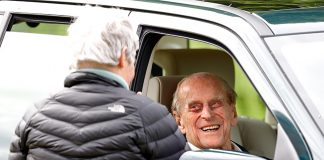 Prince Philip also attended the Royal Windsor Horse Show Photo C GETTY