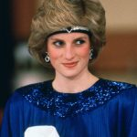 Princess Diana She made a headband tiara from the Saudi Sapphire Suite above Photo C GETTY