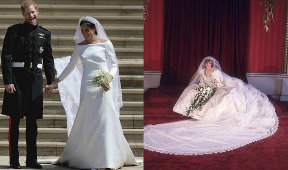 Princess Diana 'would have approved' of Meghan's dress Photo (C) GETTY