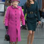 Queen She is believed to have a good relationship with Prince William and Kate Middleton Photo (C) GETTY