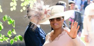 Royal Wedding 2018 Oprah Winfrey had to change her outfit last minute Photo C GETTY