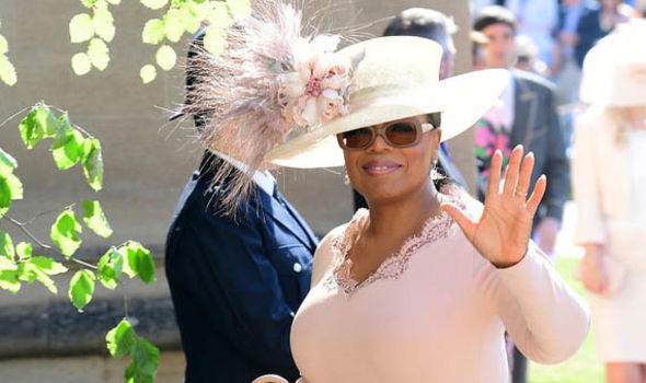 Royal Wedding 2018 Oprah Winfrey had to change her outfit last minute Photo (C) GETTY