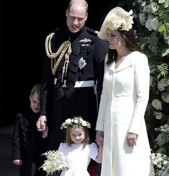 Royal Wedding Kate Princess Charlotte Photo (C) GETTY