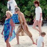 Royal Wedding Lady Jane holidayed in Necker Island with Princess Diana and Prince Harry in 1990 Photo (C) GETTY IMAGES