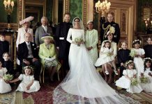 Royal Wedding The Royal Family welcomes Meghan Markle with official Royal Wedding photos Photo (C) GETTY