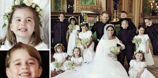Royal Wedding official pictures Princess Charlotte and Prince George stole the show Photo C PA
