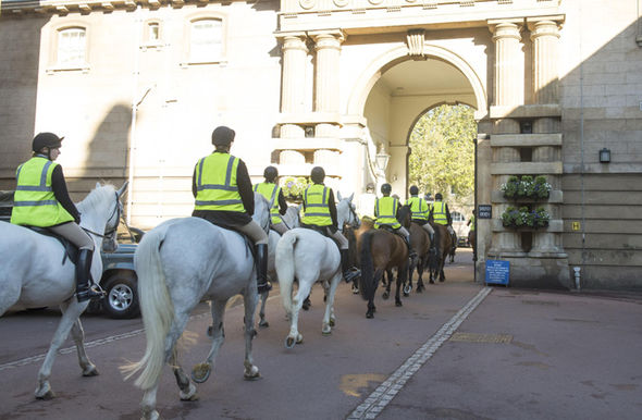 Royal Wedding preparations are well underway Photo (C) FLYNET, SPLASH NEWS