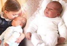 Royal baby official photos Kate releases precious photos of Prince Louis Photo (C) PA