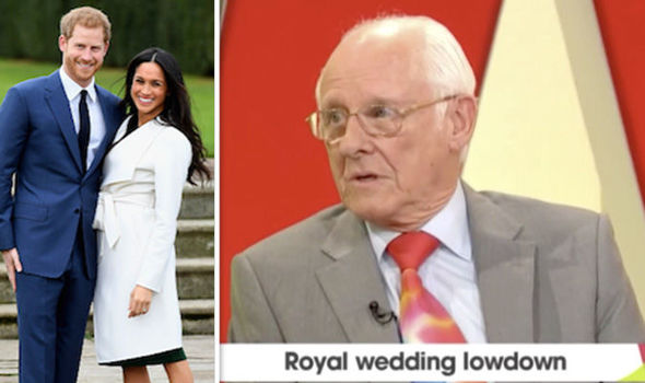 Royal commentator Dickie Arbiter spoke about the plans for tonight's party ahead of royal wedding Photo (C) GETTY ITV