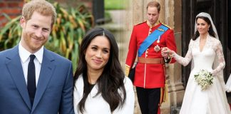 Royal wedding It is believed Meghan Markle and Prince Harry will copy Kate and Williams caterers Photo C GETTY