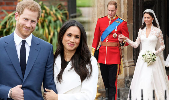 Royal wedding It is believed Meghan Markle and Prince Harry will copy Kate and William's caterers Photo (C) GETTY