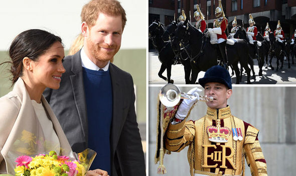 Royal wedding Prince Harry's former Army regiment has been preparing for Meghan and Harrys day Photo C GETTY PA