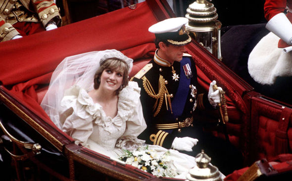 Royal wedding Princess Diana and Prince Charles' wedding was plagued by issues Photo (C) GETTY