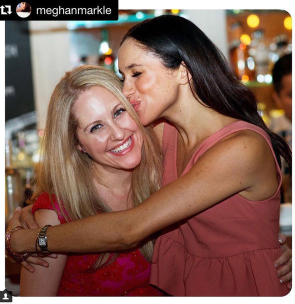 Royal wedding This woman is though to be the person Meghan will ask to be her maid of honou Photo C INSTAGRAM LINDSAY JILLROTH