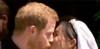 Royal wedding live Members of the royal family leave the church Photo C SKY NEWS