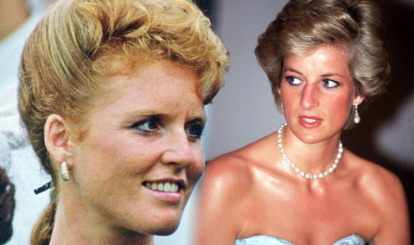 Sarah Ferguson Fergie is said to have made a big mistake compared to Princess Diana Photo C GETTY