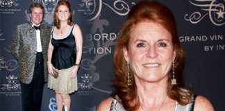 Sarah Ferguson Fergie on night out after Prince Andrew weddings news Photo (C) GETTY
