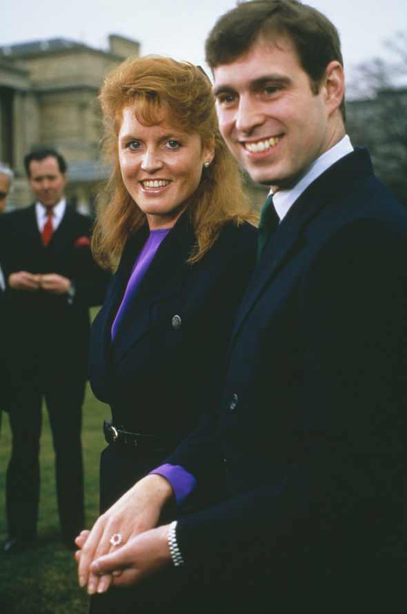 Sarah and Prince Andrew remain good friends Photo (C) GETTY