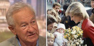 Schama pointed out how Princess Diana was represented Photo C BBC GETTY