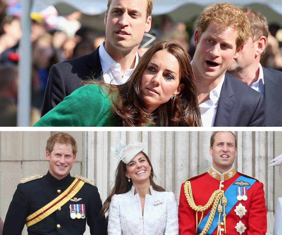 Prince Harry and Kate Middleton Photo C GETTY GIF