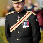 The Prince has kept his beard while wearing uniform before Photo (C) GETTY