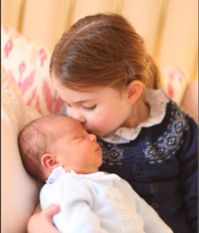 This image was taken on 2nd May, on Princess Charlotte's third Birthday.Photo (C) TWITTER KENSINGTON PALACE
