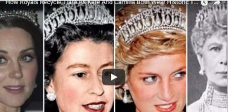 Tiara As Kate And Camilla Both Wear Historic Tiaras To Glittering Palace Dinner
