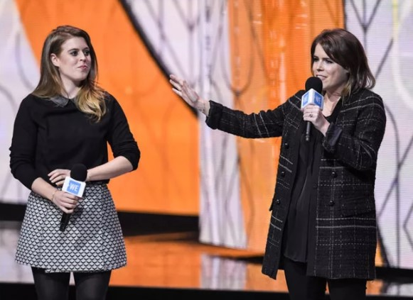 Where is Princess Beatrice Princess Eugenie drafted in to save the day for her absent sister Photo (C) GETTY