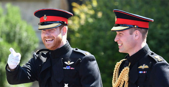 William previously said 'revenge is sweet' following the announcement he would be Harry's best man Photo (C) GETTY