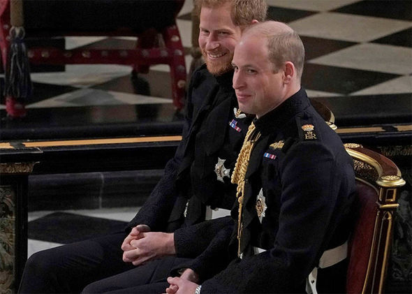William reportedly tied a ladder to Harry and Meghan's car –poking fun at Harry for a recent tumble Photo (C) GETTY