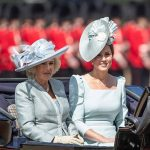 Kate Middleton looks gorgeous in pastel blue at Trooping the Colour Photo (C) GETTY