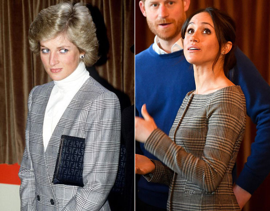 08 princess diana and meghan markle similar fashion style photo c getty images dianalegacy latest update news images videos of british royal family dianalegacy