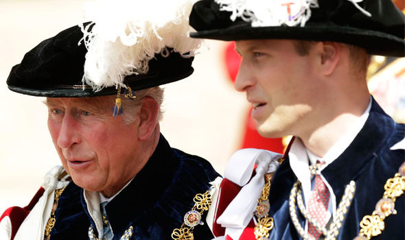 Kate Middleton Prince William will likely be given the Prince of Wales title by his father Charles Photo (C) GETTY