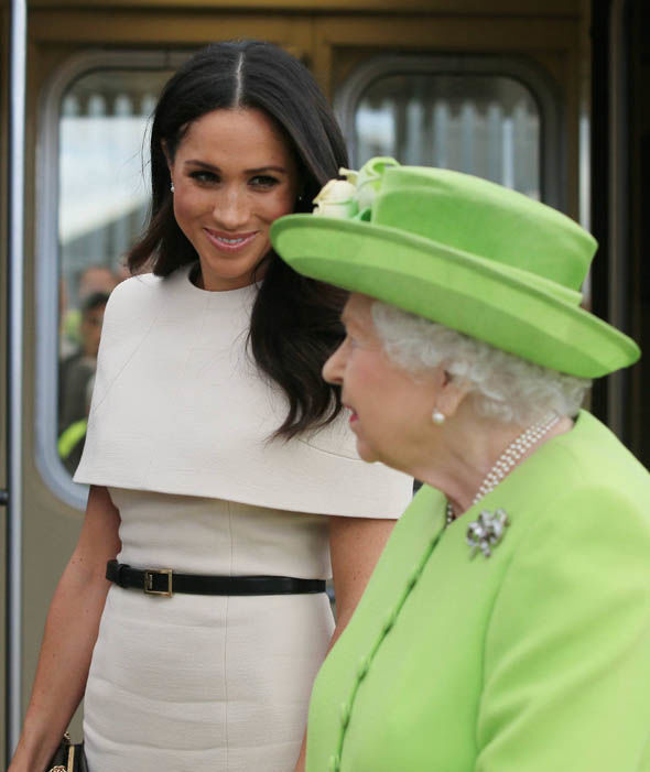 Meghan Markle and the Queen's royal visit to Chester - LIVE pictures Photo (C) GETTY, PA, GC GETTY IMAGES