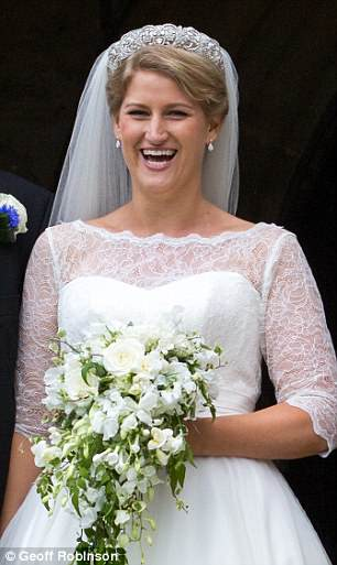 elia, cousin of Prince William and Harry, was the picture of happiness on her welia, cousin of Prince William and Harry, was the picture of happiness on her wedding dayedding day