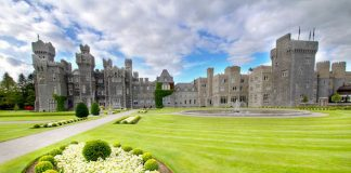 Ashford Castle is a medieval and Victorian castle that has been expanded over the centuries Photo C GETTY