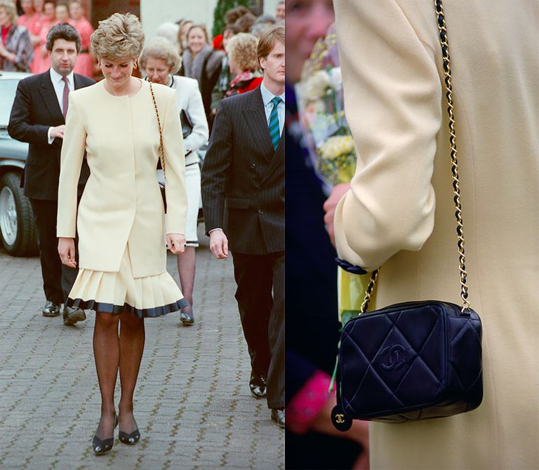 Brundson explained that while he was helping to style her during a trip to Australia, Diana told him she couldn't wear a classic pair of Chanel shoes Photo (C) GETTY