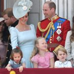 Princess Charlotte took a tumble during the Trooping the Colour Photo Getty Images