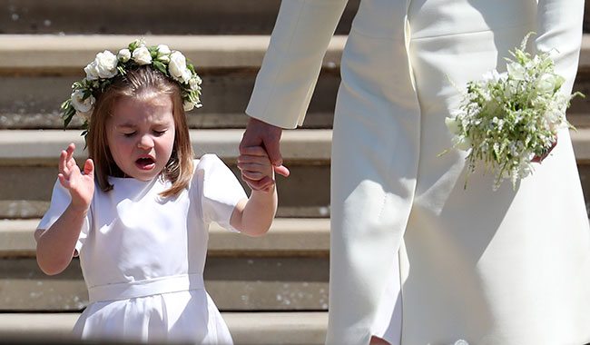 Princess Charlotte sneezing is the cutest clip you'll see today Photo (C) GETTY