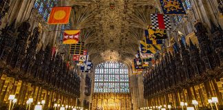 Eugenie and Jacks family members and friends will be seated in the quire Photo C GETTY